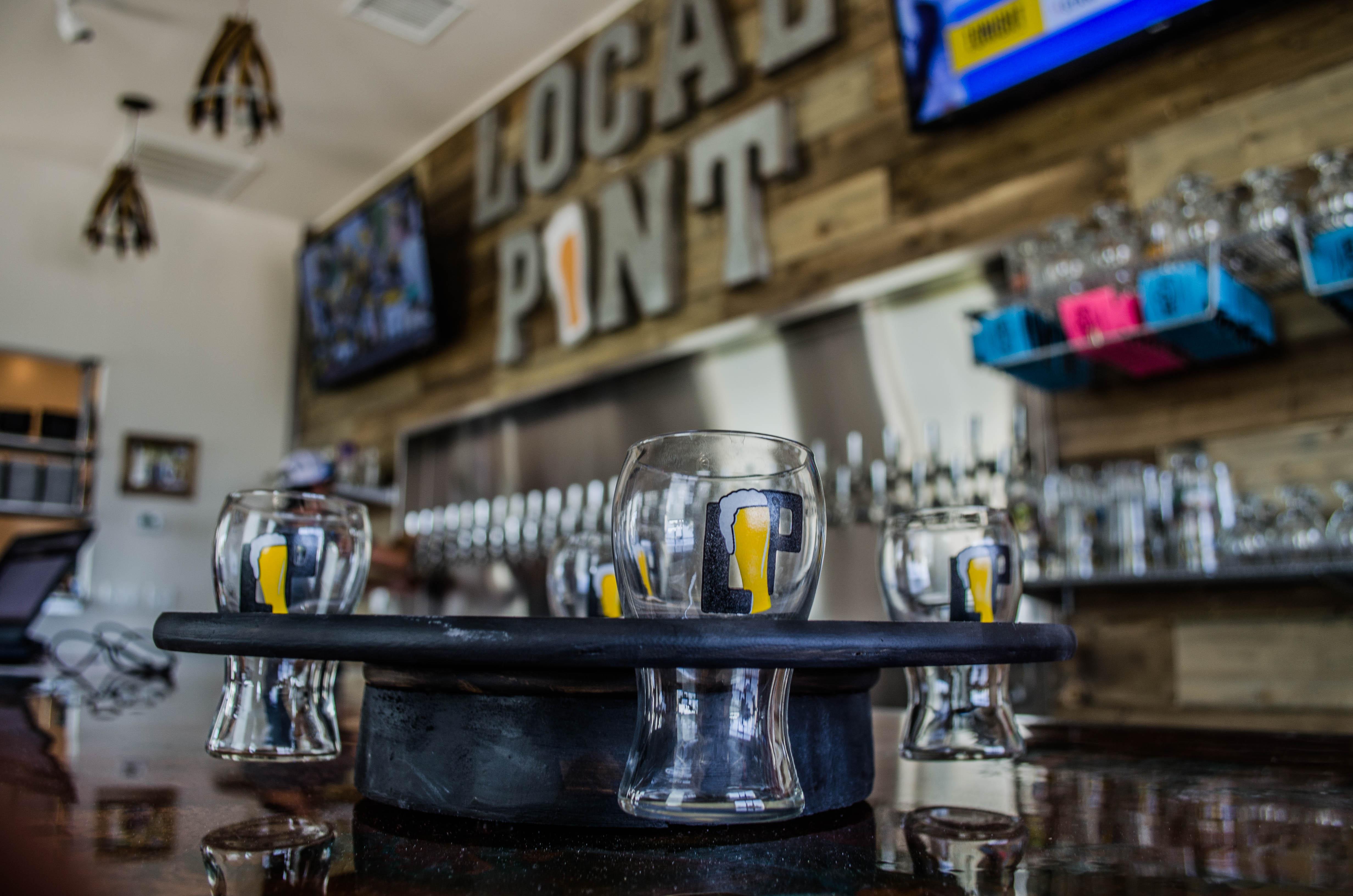 Beer Menu Local Pint